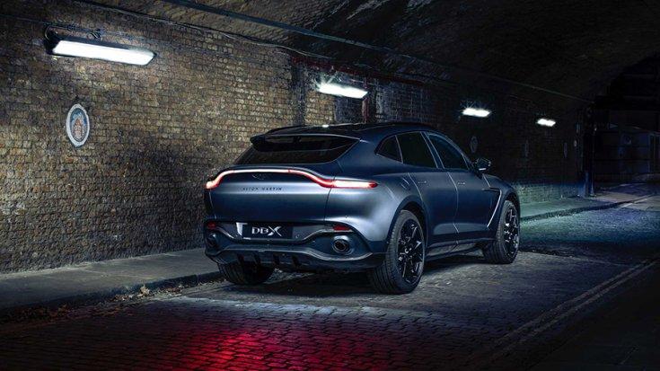 Az Aston Martin Q divízió által kezelésbe vett DBX