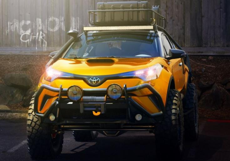 Toyota C-HR offroad koncepció