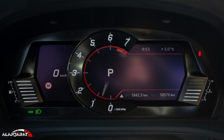 Toyota Supra GR Teszt Alapjárat