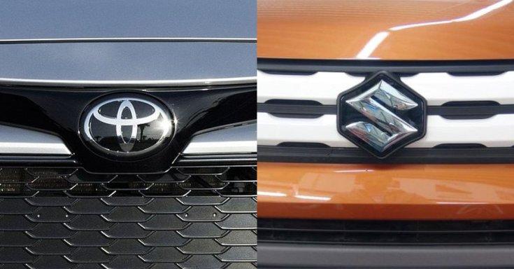 Toyota Suzuki emblémák