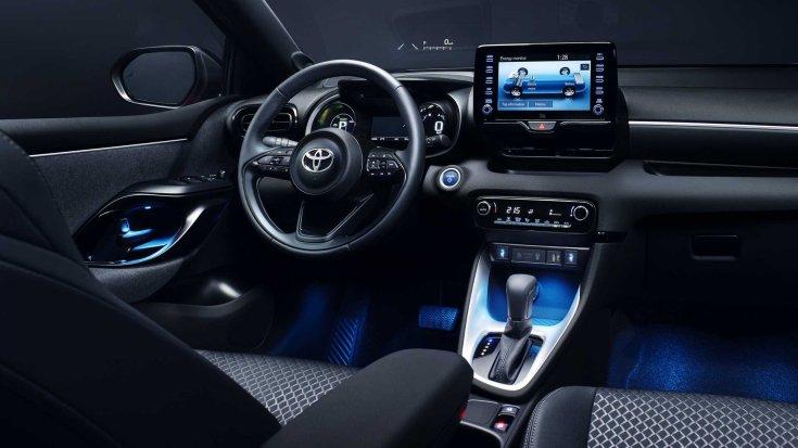 Toyota Yaris 2020 beltér