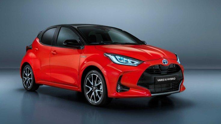 Toyota Yaris 2020 elölről