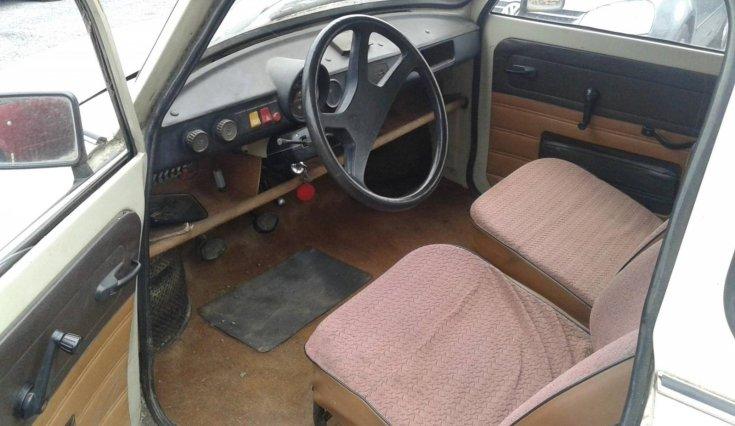 Trabant 601 beltér