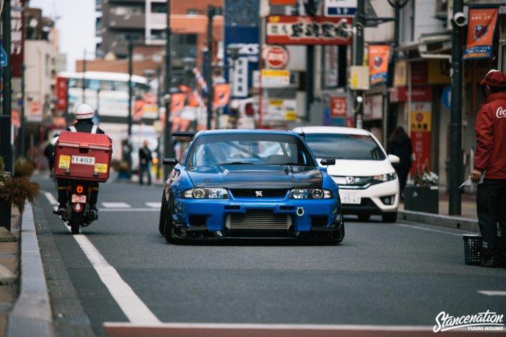 Shinichiro Shirasaka Nissan Skyline R33 GTR-je