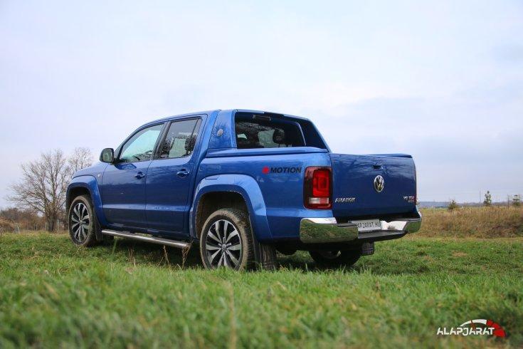 Volkswagen Amarok Aventura - Teszt Alapjárat