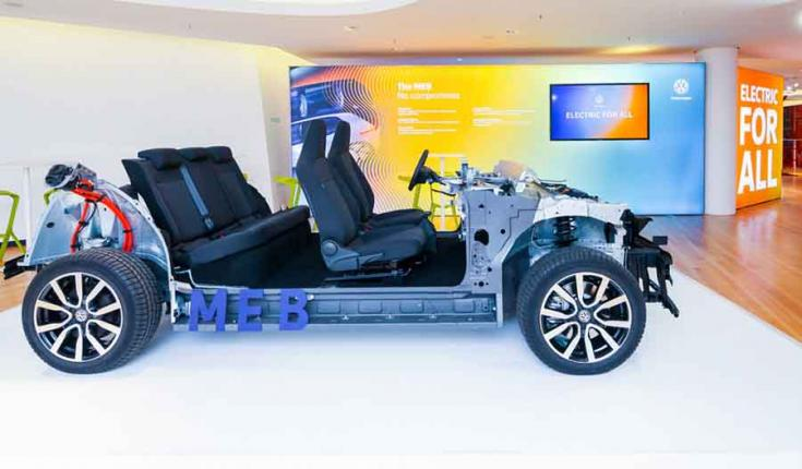 Volkswagen-konszern MEB platform