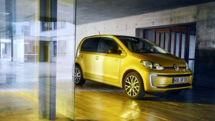 Volkswagen e-UP! szemből