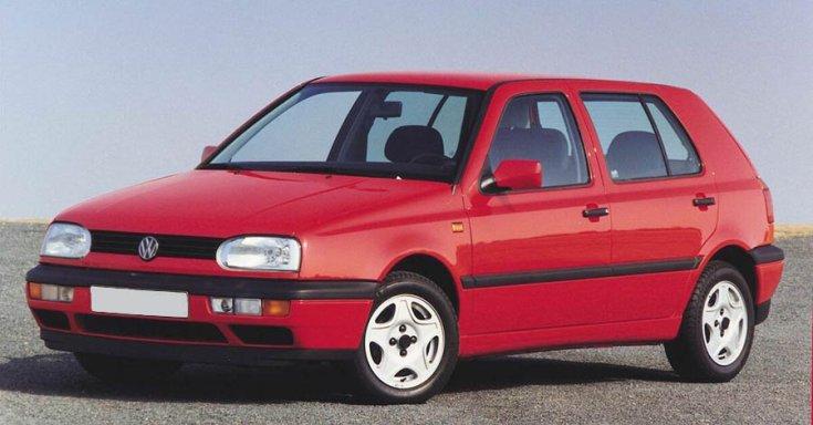 Volkswagen Golf III elölről