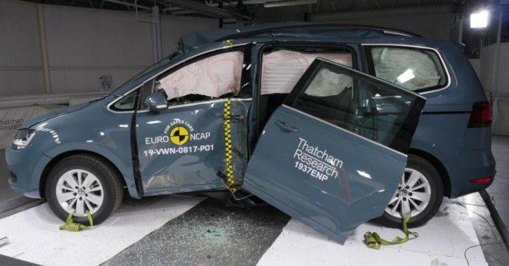 VW Sharan Euro NCAP