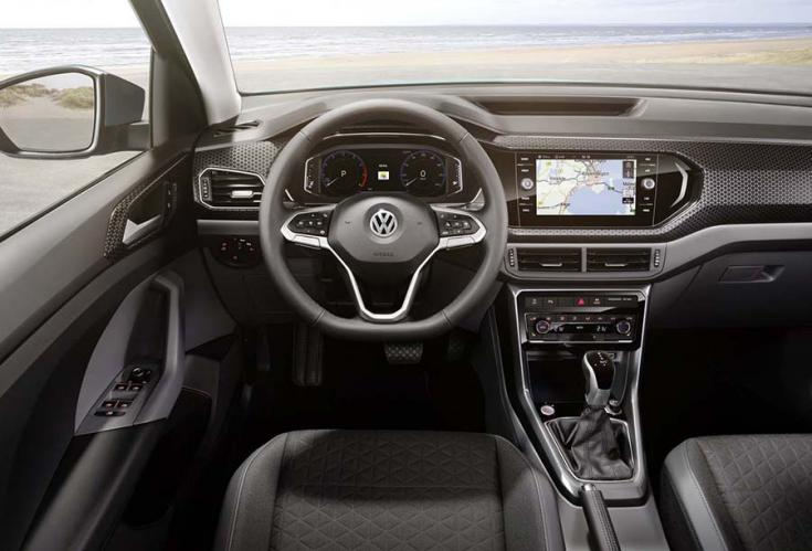 2018-as Volkswagen T-Cross beltere