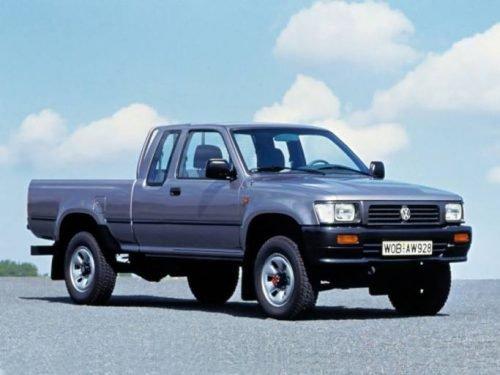 Ötödik generációs Toyota Hiluxból készült VW Taro