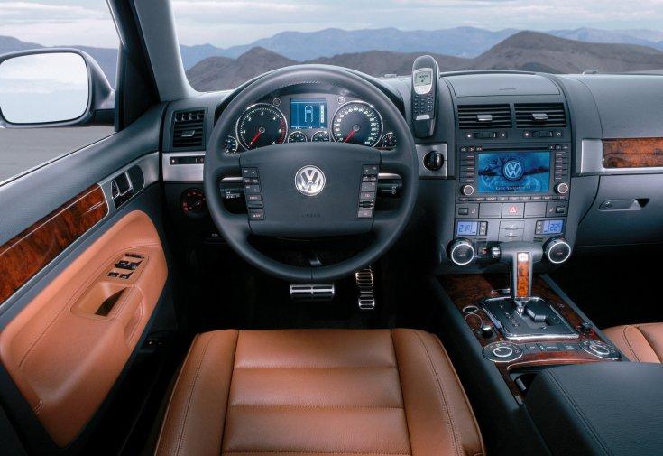 Volkswagen Touareg 5.0 V10 TDI beltér
