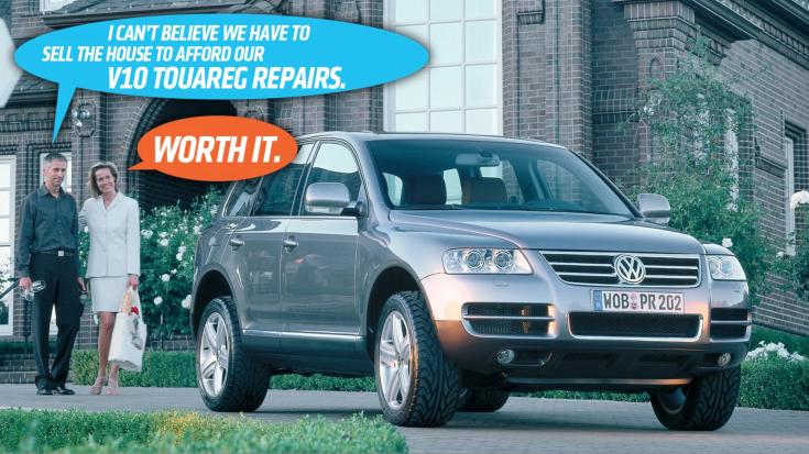Volkswagen Touareg 5.0 V10 TDI fenntartási költségek