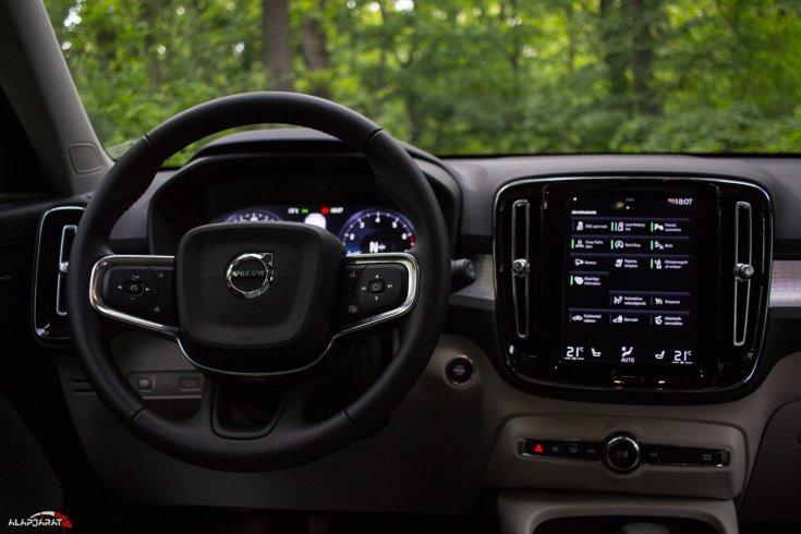 Volvo XC40 T3 - Teszt Alapjárat