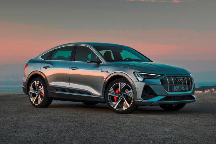 Audi e-tron szemből