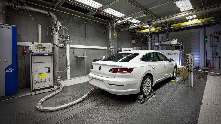 Volkswagen Arteon WLTP fogyasztásmérés