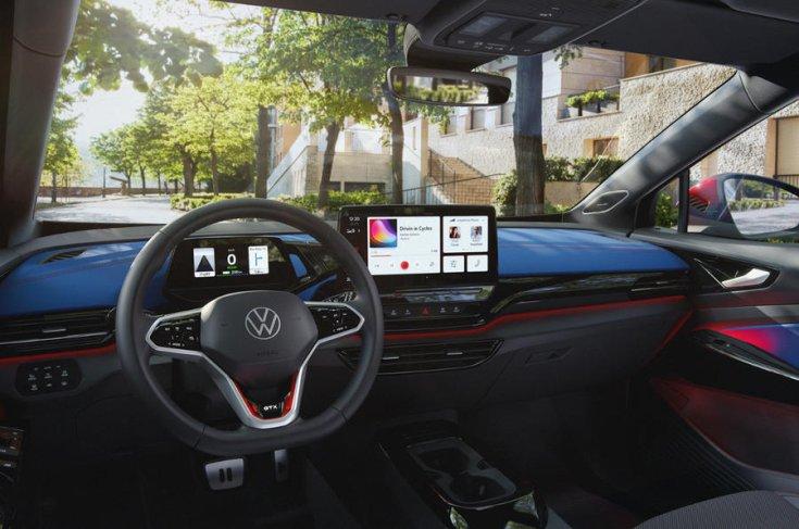 Volkswagen ID.4 GTX utastere