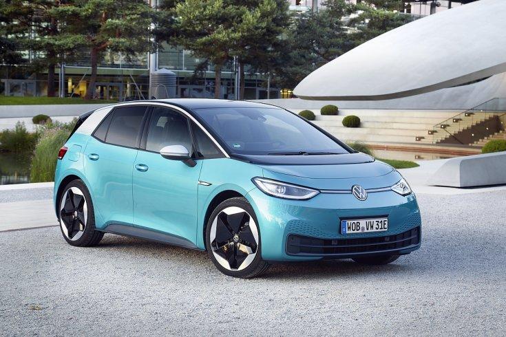 Volkswagen ID.3 szemből