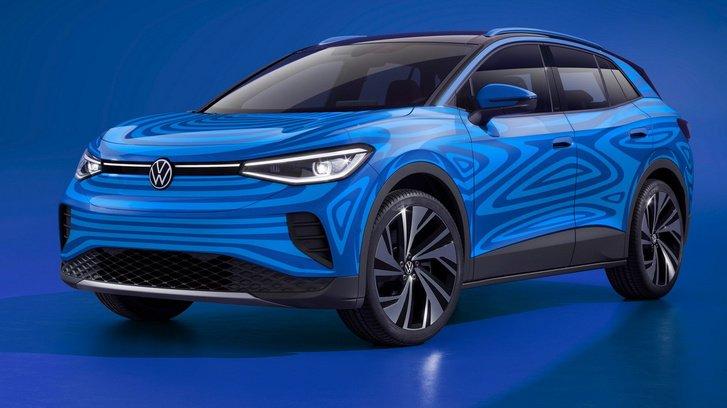 2020-as Volkswagen ID.4 látványterv elölről