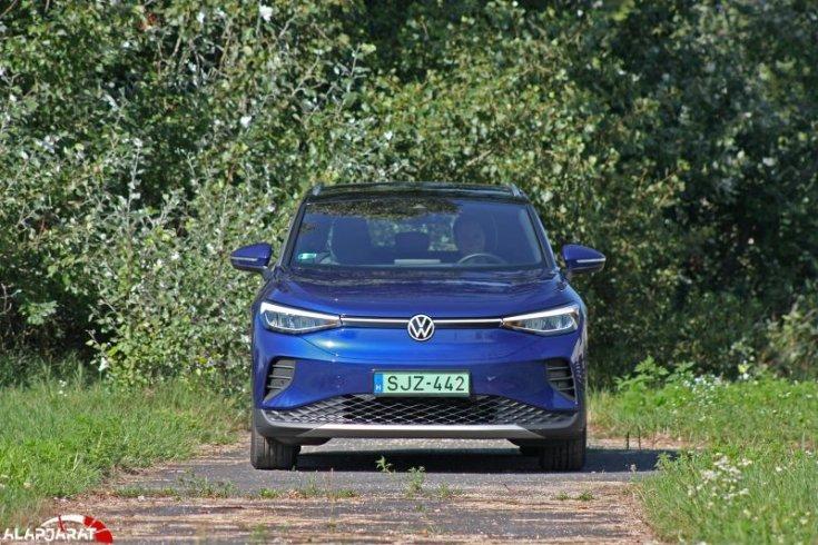volkswagen id4 teszt alapjárat