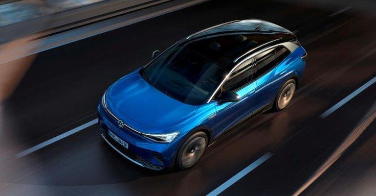 Volkswagen felülnézetből