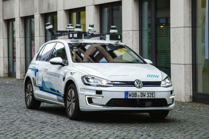 önvezető VW