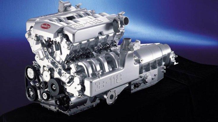 Bugatti W18 motor