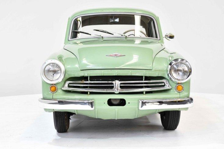 Gosford Classic Cars, Wartburg 311, almazöld, frontális, elölről