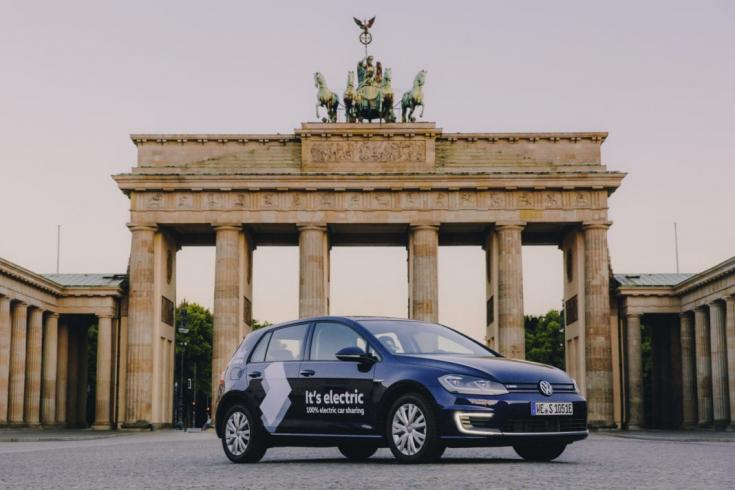 WeShare elektromos Volkswagen Golf