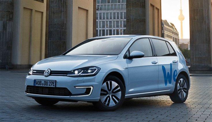 WeShare Volkswagen e-Golf
