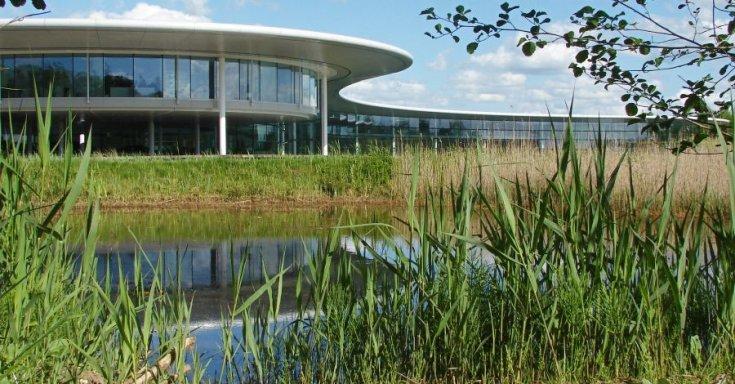 wokingi McLaren technológigai központ