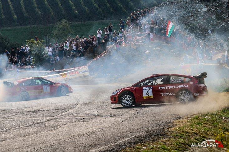 Két WRC szolgáltatja a show-t a nézőknek