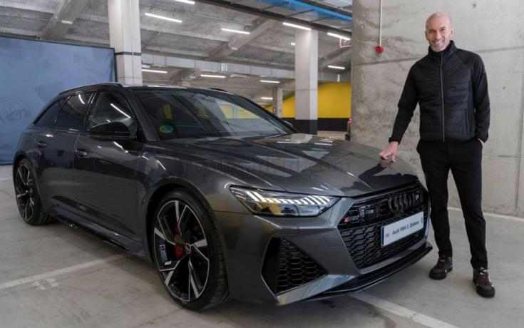 Zidane céges autója
