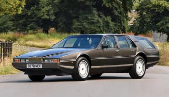 Aston Martin Lagonda Shooting Brake elölről