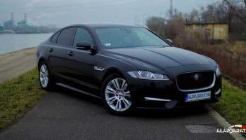 2018-as Jaguar XF elölről