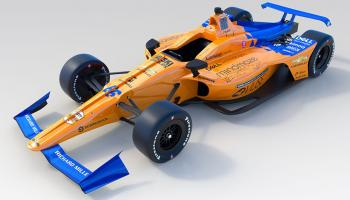 Alonso Indy 500-as autója
