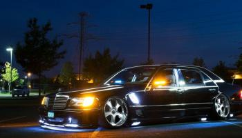 OG Gangster look – Macaulay VIP style Mercedes S500-a