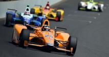Alonso McLarennel az Indy 500-on