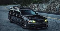 A hivatalos Skyline kombi – 1998-as Nissan Stagea 260RS-e
