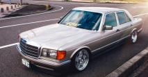 Import áru – 1989 Mercedes-Benz W126 500SE