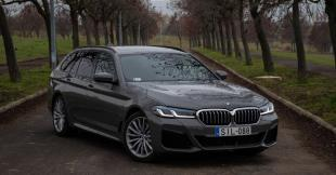 2020-as BMW 530d elölről