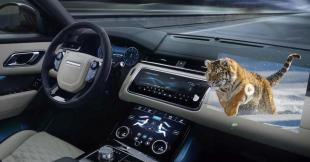 Jaguar Land Rover 3D head-up display