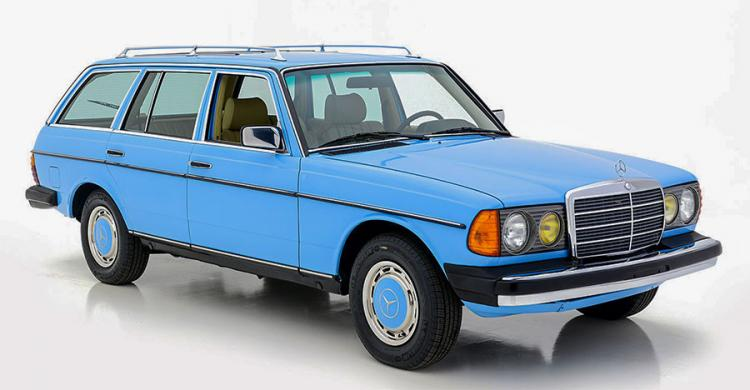 Az 1983-as Mercedes 300 TD Wagon