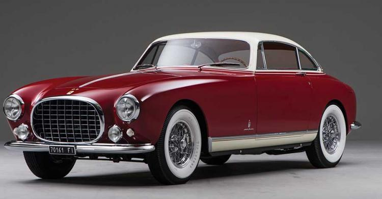 1953-as Ferrari 250 Europa elölröl