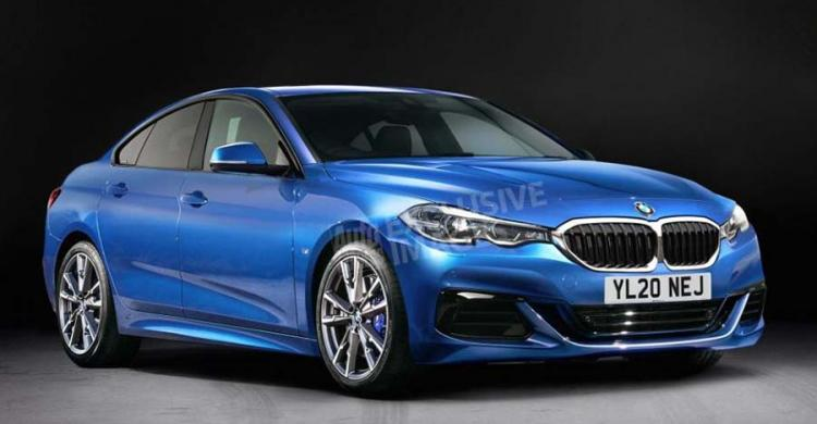 2020-as BMW 2-es Gran Coupe látványterv