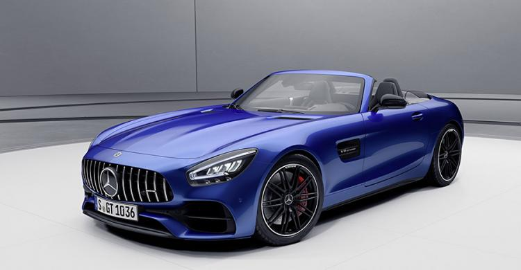 2020-as Mercedes-AMG GT elölről