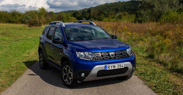 2020-as Dacia Duster elölről