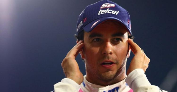 Sergio Perez a Racing Point színeiben