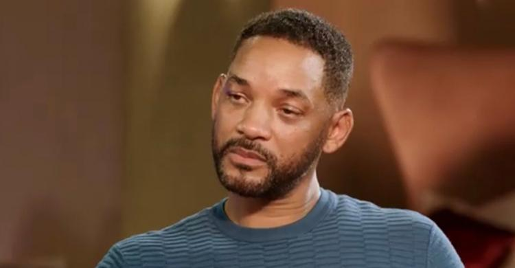 Will Smith szomorú