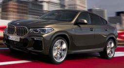 2020-as BMW X6 elölről